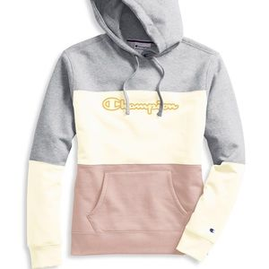 NEW! Tri-Color Fleece Hoodie